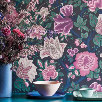 The Pearwood Collection Midsummer Bloom wallpaper by Cole & Son