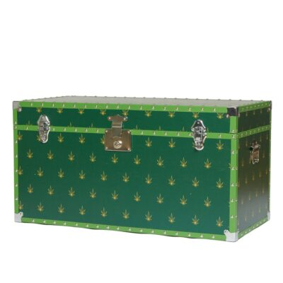 green Trunk with leaves by casacarta
