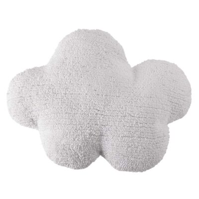 Washable cushion cloud white by Lorena Canals