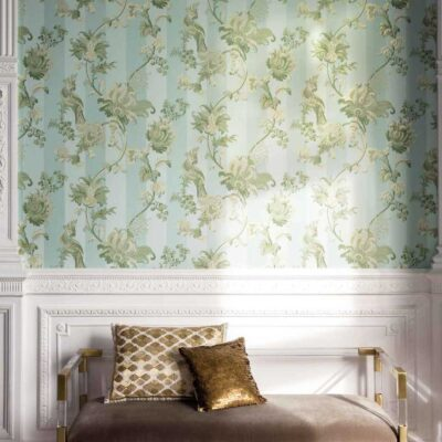 green Zerzura wallpaper by Cole & Son