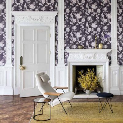 purple Zerzura wallpaper by Cole & Son