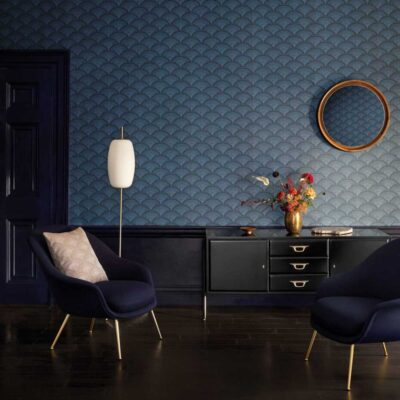 feather fan wallpaper by Cole & Son