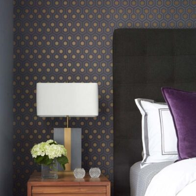 hicks hexagon wallpaper by Cole & Son