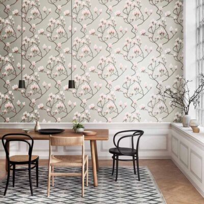 magnolia wallpaper by Cole & Son