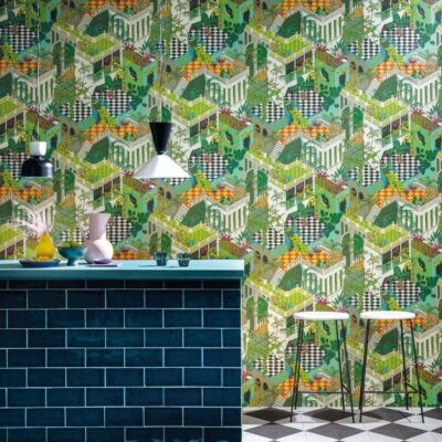miami wallpaper by Cole & Son