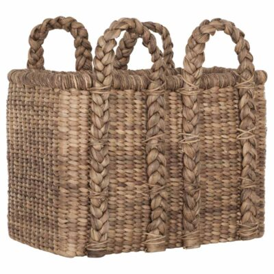 Water hyacinth basket Colony high by Must Living