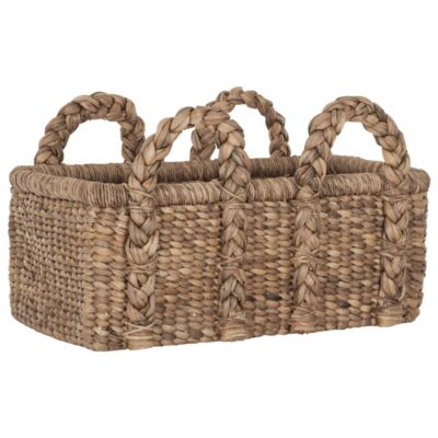 Water hyacinth basket Colony low by Must Living