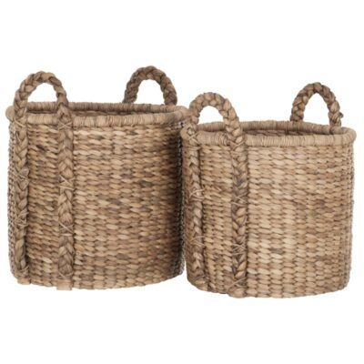 baskets colony high made of water hyacinth by must living