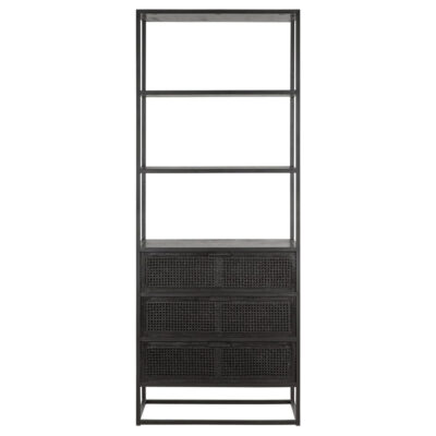 black cane bookcase Spiderman by Must Living