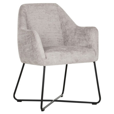Black metal frame taupe chair Dream by Must Living