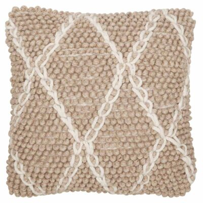 wool cushion beige Princess by Must Living