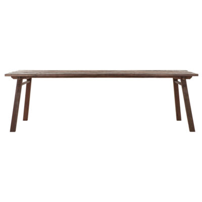 dining table Campo made from mixed wood 260 cm by Must Living