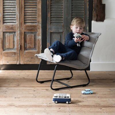 kids grey lounge chair by Must Living