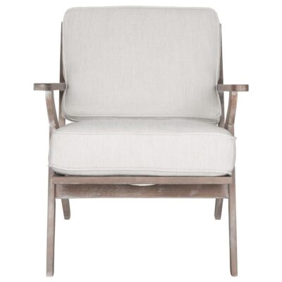 Beechwood frame lounge chair Fletcher by Must Living