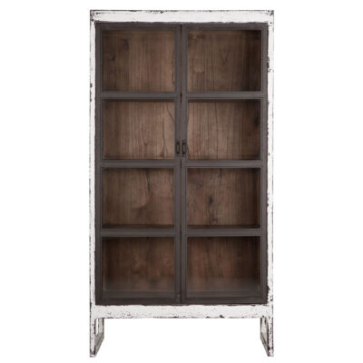 white bookrack Ghost large by Must Living