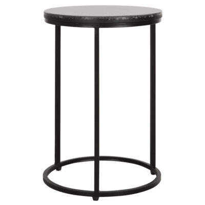 black round side table Palm Springs by Must Living
