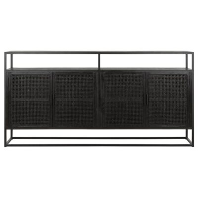 black cane sideboard Spiderman by Must Living