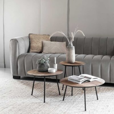 Slate grey sofa Elegant by Must Living