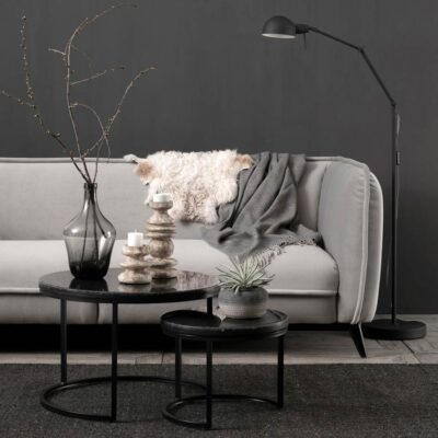 slate grey sofa Escape by Must living