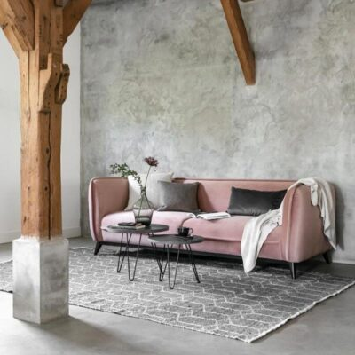 pink sofa Escape by Must living