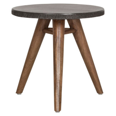 Black granite top table Mount Everest by Must Living
