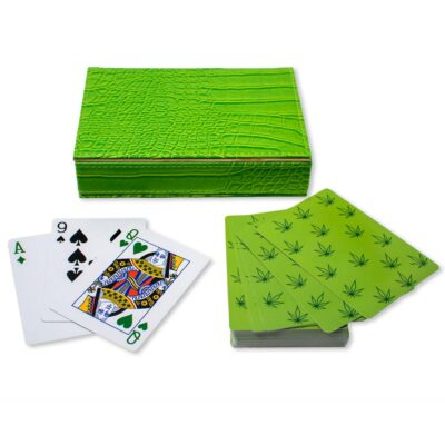playing card leaf by casacarta