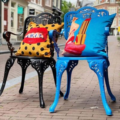 seletti chairs cushions