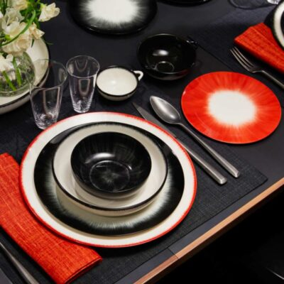 plate Dé designed by Anne Demeulemeester by Serax