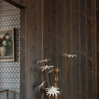 woods & pears wallpaper by Cole & Son