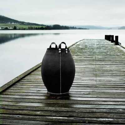 rubber barrels from Dacarr by Muubs made from upcycled car tire