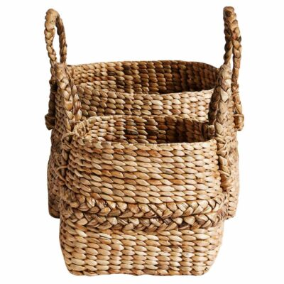 baskets in water hyacinth, home storage by Muubs