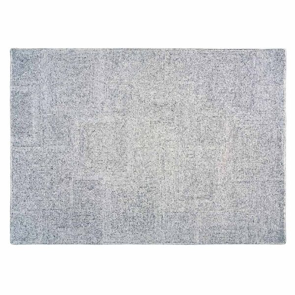 silver ethnic Dam rug by Toulemonde