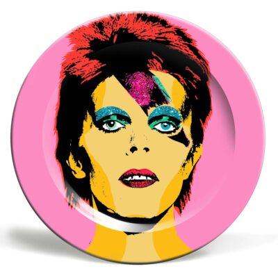 David Bowie plate by Artwow