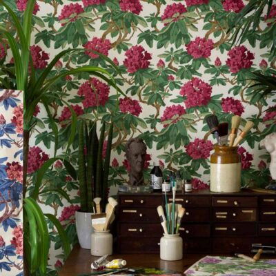 Folie Bourlie wallpaper by Cole & Son