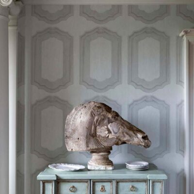 Folie Louis wooden panelling wallpaper by Cole & Son
