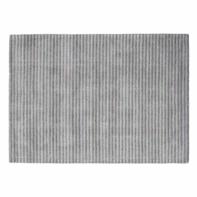 fine stripe grey Gentle rug by Toulemonde