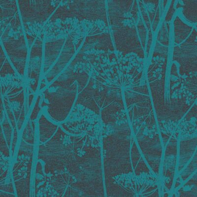 Blue Icons Cow Parsley wallpaper by Cole & Son