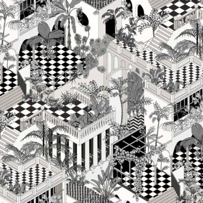Icons Miami wallpaper by Cole & Son