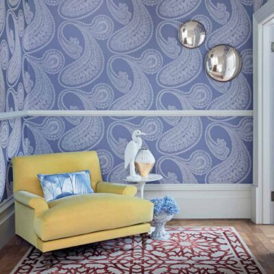 Icons Rajapur Flock wallpaper by Cole & Son