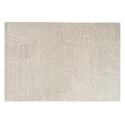 beige Percorso rug by Toulemonde