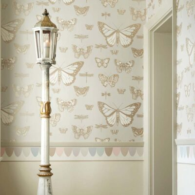 Whimsical Butterflies & Dragonflies wallpaper by Cole & Son