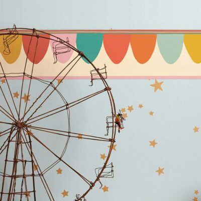Whimsical Scaramouche wallpaper by Cole & Son