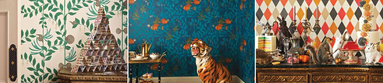 Whimsical wallpaper cole & Son
