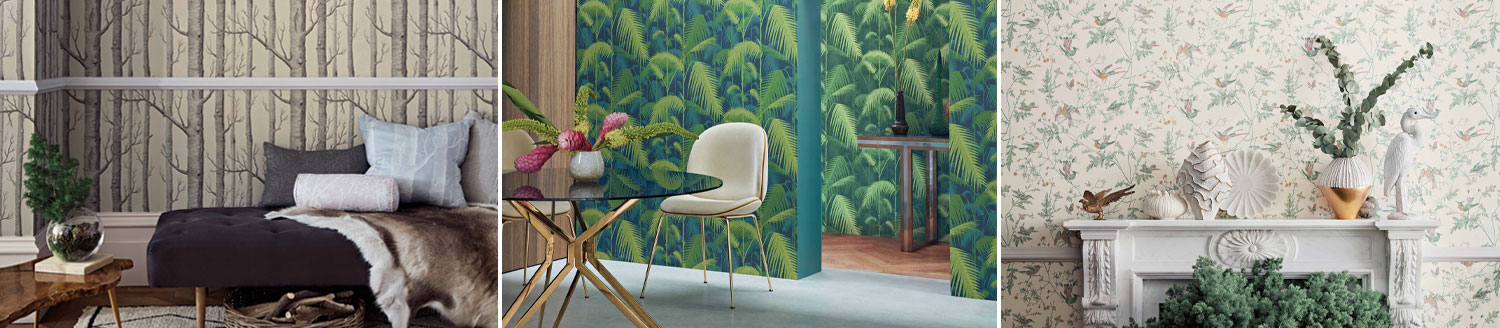 icons wallpaper by Cole & Son
