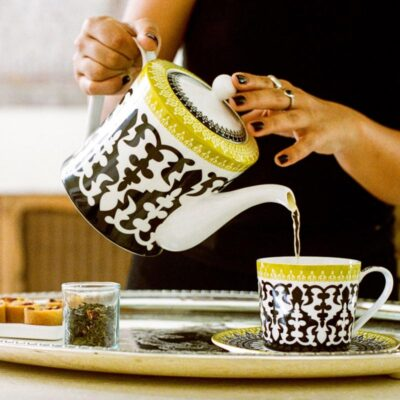 Teapot and mug by Images d'Orient