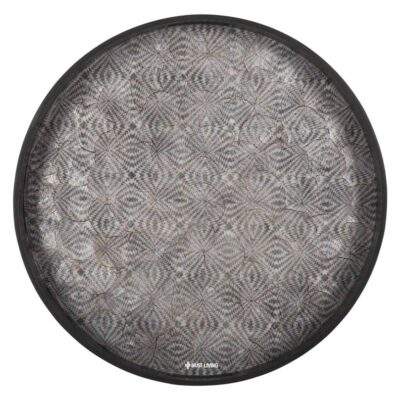 anthracite resin tray Istanbul by Must Living