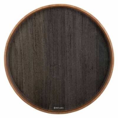 black and brown resin tray Rio de Janeiro by Must Living