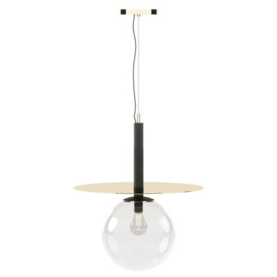 handmade suspension lamp with a metal structure by Laskasas