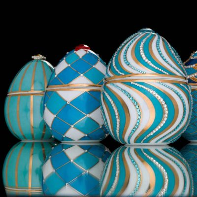 arlequin egg Faberge by Ladenac