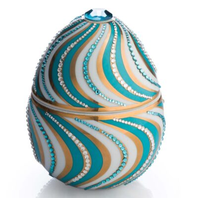 helicoidal egg Faberge by Ladenac